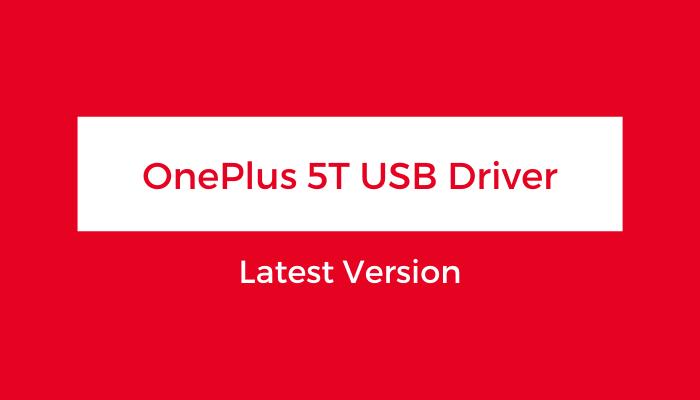 OnePlus-5T-USB-Driver