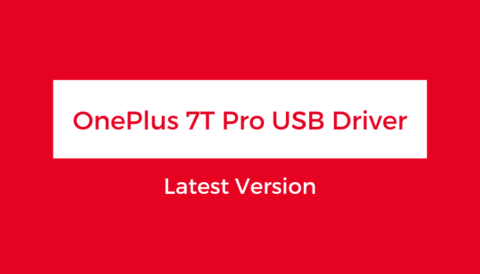 OnePlus-7T-Pro-USB-Driver