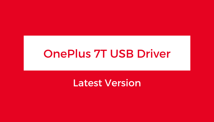 OnePlus-7T-USB-Driver