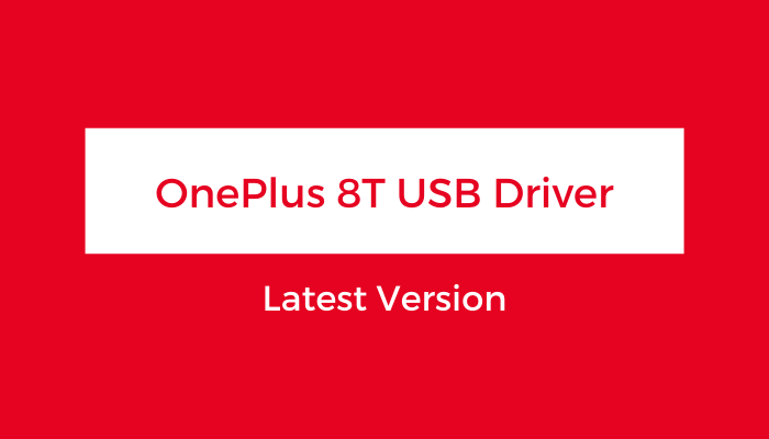 OnePlus-8T-USB-Driver